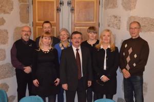 Delegation Trikommunale Partnerschaft Wendelstein-Saint-Junien-Zukowo